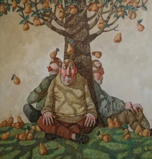 Познающие дерево по плодам его. Живопись от Меренкова Сергея.