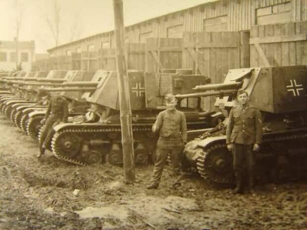 Трофейные австрийские, чехословацкие и польские противотанковые орудия в ВС Германии во Вторую мировую