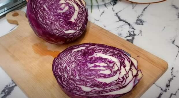 Салат «Мальвина» — быстрый, простой салат на скорую руку!