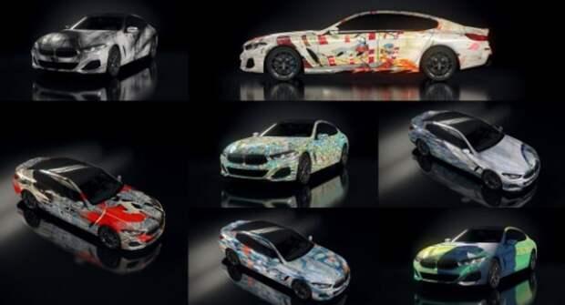 BMW представила арт-автомобили с использованием искусственного интеллекта