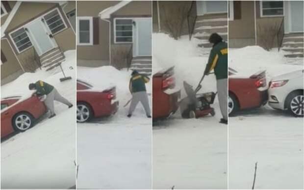 Прощаемся с зимой: 6-минутное смешное видео про пробуксовку