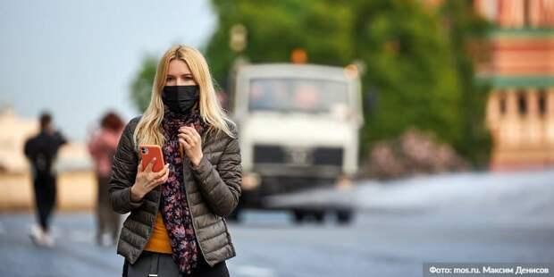В торговых центрах ЦАО выявили 58 нарушителей перчаточно-масочного режима. Фото: М.Денисов, mos.ru