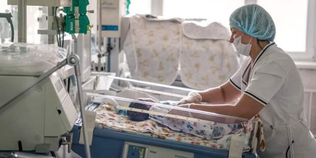 Сергей Собянин: По просьбам родителей организовали трансляции из отделений реанимации и патологии новорожденных