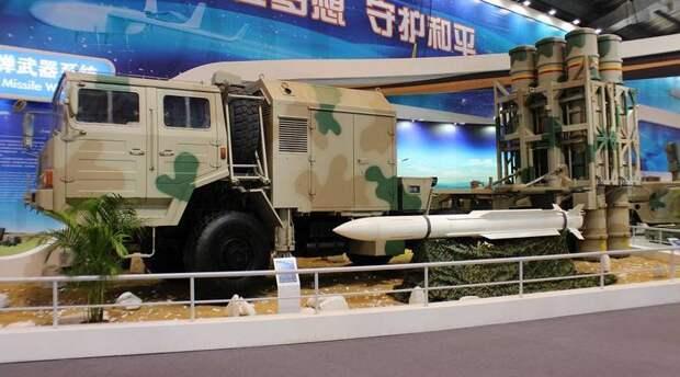 Экспорт китайских ЗРК средней и большой дальности и их конкуренция с российскими противовоздушными системами