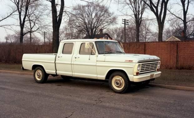Пикап - сделано в Америке и для Америки ford, пикап