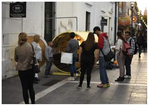Внутри убежище. /Фото: newatlas.com.