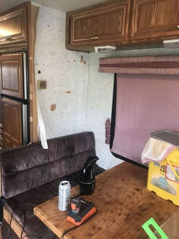 Преображение старого фургона