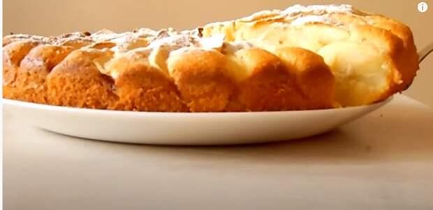 Яблочный пирог, который тает во рту. Все просят рецепт