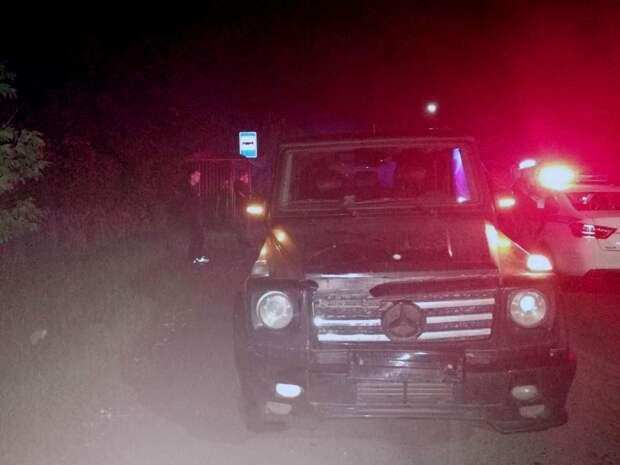 Водитель «Мерседеса» насмерть сбил пешехода в Сарапуле