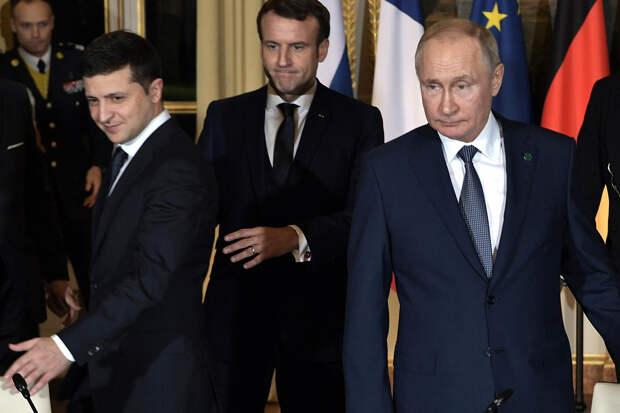 Возможность встречи Путина и Зеленского поставили под сомнение