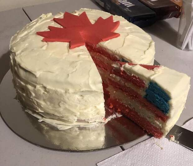 Канадский торт