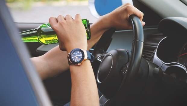 Сотрудники ГИБДД Подольска выявили 13 пьяных водителей за неделю