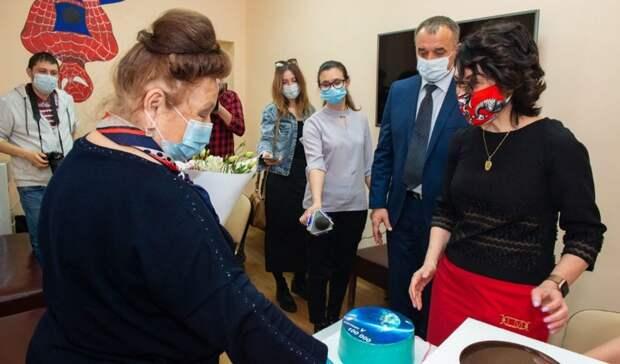 ВОренбуржье вакцину откоронавируса получил 100-тысячный пациент