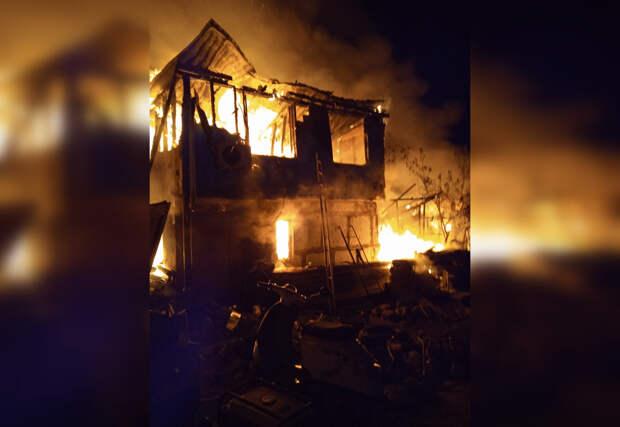 Ребенок погиб на пожаре в Севастополе