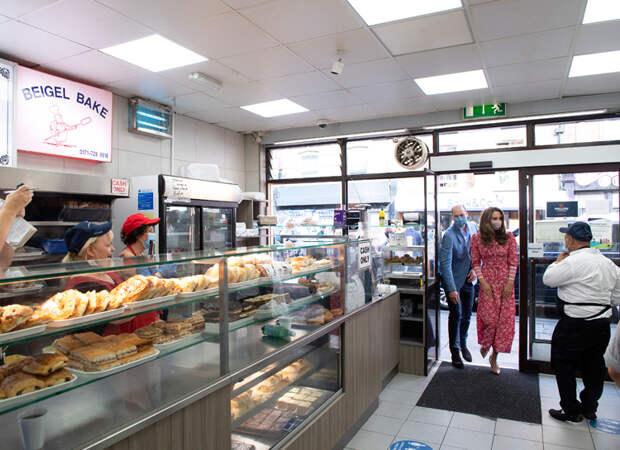 Кейт Миддлтон и принц Уильям поработали в знаменитой лондонской пекарне