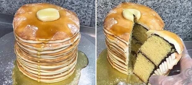 реалистичные торты
