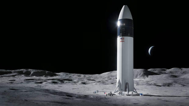 SpaceX выиграла конкурс на создание лунного посадочного модуля