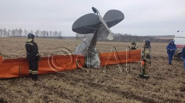 Крушение легкомоторного самолета под Иркутском привело к уголовному делу