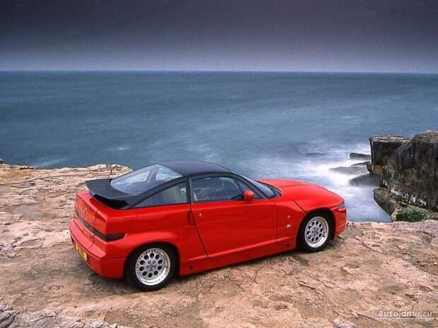 Примерно в тот же временной период у Zagato были и другие резонансные проекты. Например Alfa Romeo SZ… jdm, nissan, zagato, авто, автодизайн, дизайн, прототип, спорткар