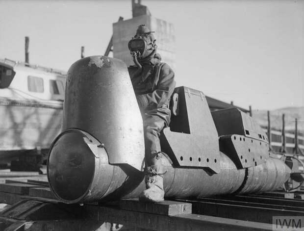 Человекоуправляемые торпеды Chariot. Удачные неудачи