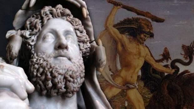 Голый император на арене Колизея.