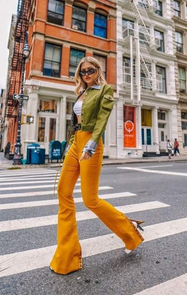 Ультра-модные брюки, которые удлиняют ноги — must have этого сезона