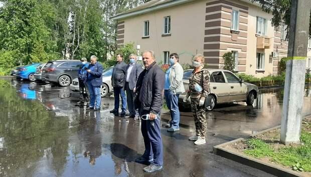 Власти заставили УК делать качественный ремонт дома в Подольске