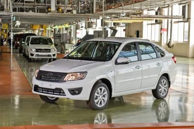 «Автоваз» остановит производство ряда моделей из-за нехватки комплектующих