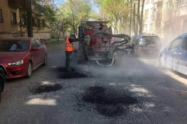 Какие дороги в Симферополе ремонтируют в первой половине мая