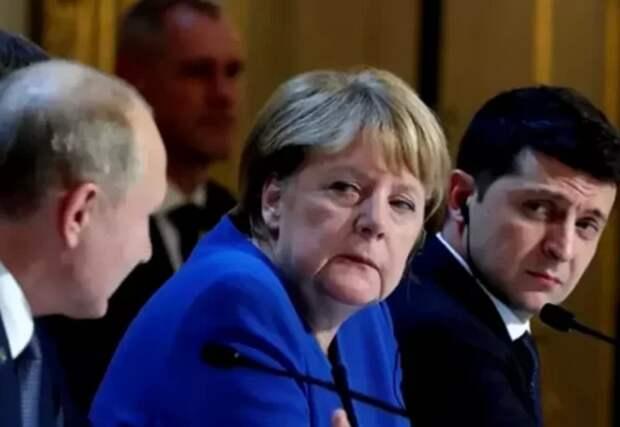 Германия наконец-то показала всей Европе, как нужно вести разговоры с Украиной. Теперь они знают где их место