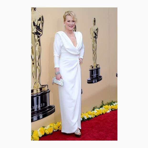 Мэрил Стрип на церемонии «Оскар»-2010
