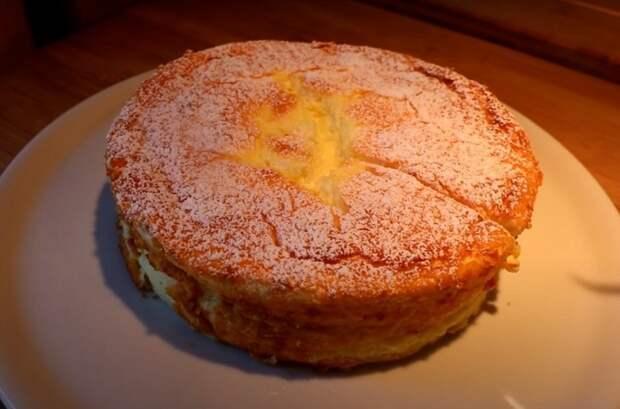 Пирог на йогурте из четырех яиц! В 4 раза вкуснее маминой шарлотки