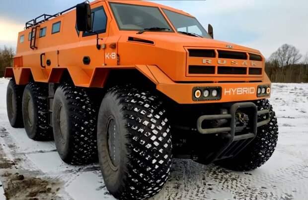 Видео: Новый русский вездеход и еще 7 автомобилей, которые могут добраться куда угодно