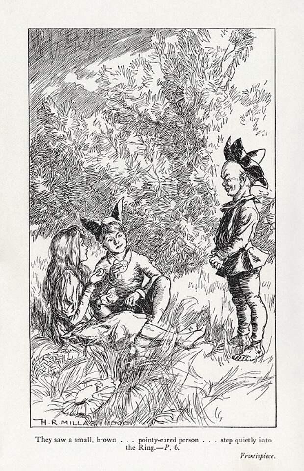 Иллюстрация Гарольда Миллара.