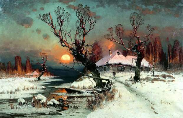Лучшие стихи про зиму
