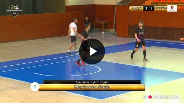 Army Food 4 : 11 Movistar Futsal Club Yerevan INTER CUP 2021 , GROUP B (Tour 4)
