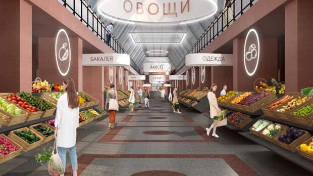Старейший рынок Петербурга преобразуют в гастрономическое пространство