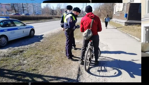 За два дня в Петрозаводске велосипедисты более 20 раз нарушили ПДД
