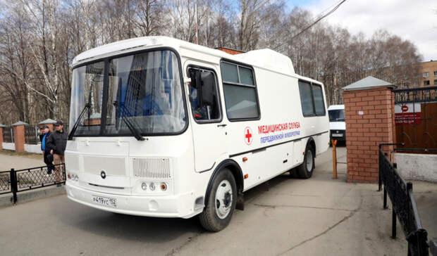 «Поезда здоровья» побывали в36 районах Нижегородской области заапрель имай