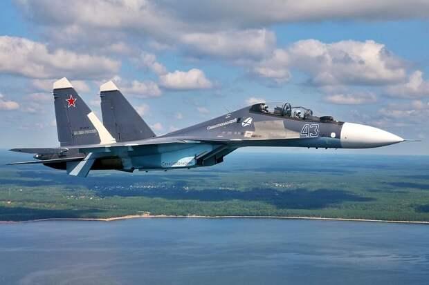 Американским разведчикам придётся менять нижнее бельё после встречи с российскими Су-30