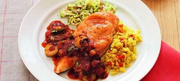 Вкусный рис на гарнир к курице