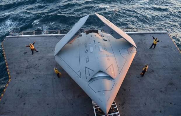 Беспилотные «летающие крылья» зарубежной разработки