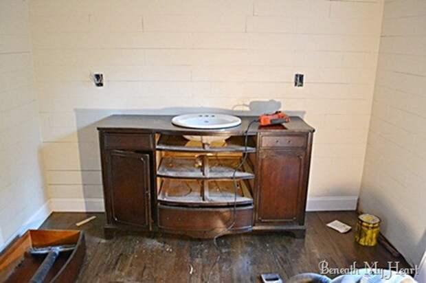 Шикарная мебель в ванную (Diy)
