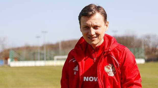 Галактионов продолжит работу в молодежной сборной России