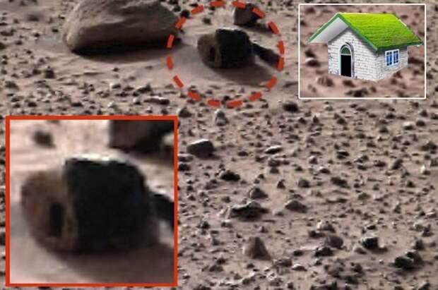 На Марсе есть озера и зеленая растительность?