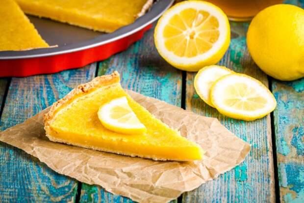 Лимонный тарт: рецепт с фото