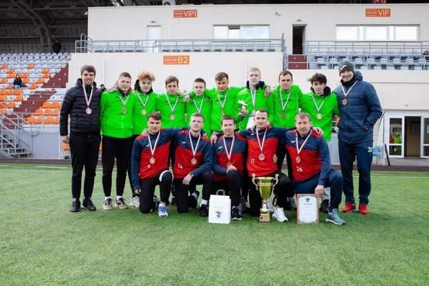 Петрозаводские футболисты завоевали бронзу на межрегиональных соревнованиях