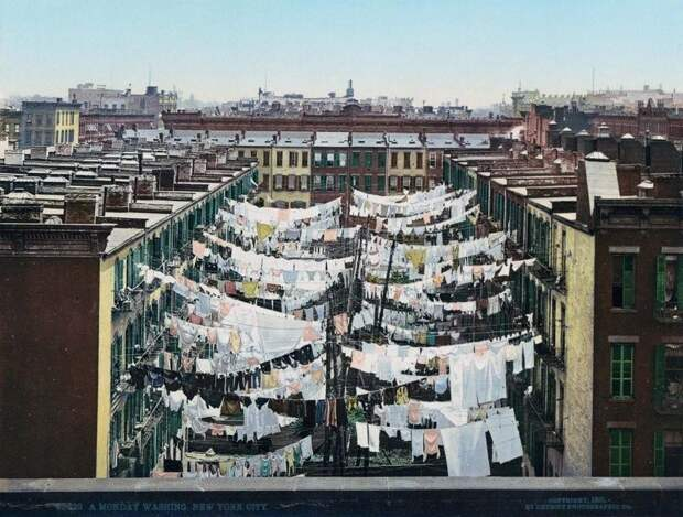 Сказочные фотохромы Нью-Йорка 1900-х годов