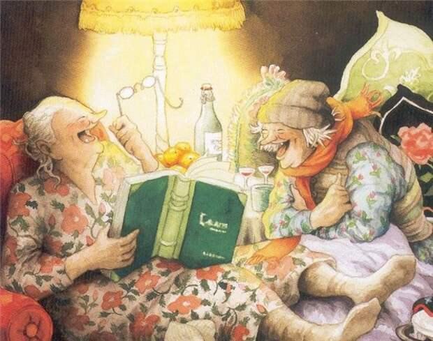 Картинки по запросу веселые старушки
