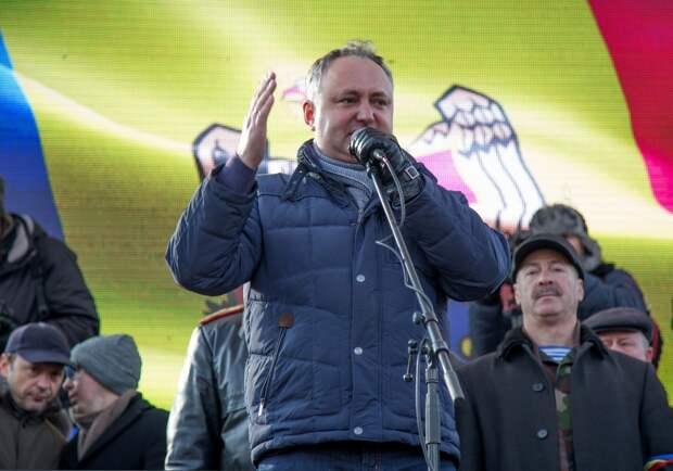 Новый президент Молдавии выступил с заявлением по Крыму